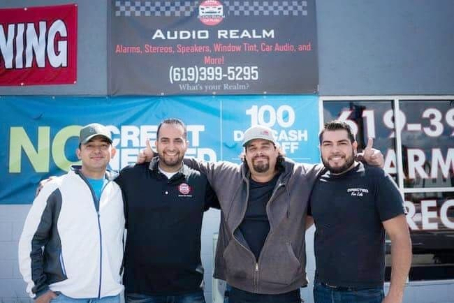 Audio Realm Car Audio in National City.