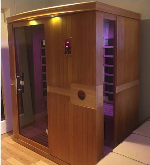 POWERSAUNA - We all deserve to relax and get pampered—and what better way to do this than by using our sauna?j.POWERStudio now offers usage of our FAR Infrared Sauna. Now you can relax and detox in our sauna for a total body experience. First you do the fitness, then you do the wellness. Our sauna is a 3-person sauna that has audio capability and speakers for your listening enjoyment. Wear a bathing suit or wrap a towel around you when you use sauna. (Bring your own towel for sauna usage.)$20.00 per person, 30-minute sessionFREE for Elite Members