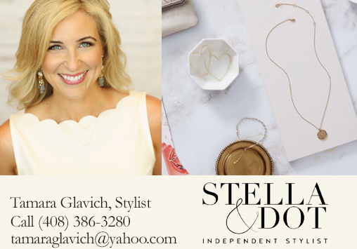 STELLA & DOT - Tamara Glavich, StylistStella & Dot creates luxurious looks that make celebrities and editors swoon, at a price that's within reach of all women. You'll find gem-stoned necklaces, stackable rings and bangles, leather signature clutches and so much more.
