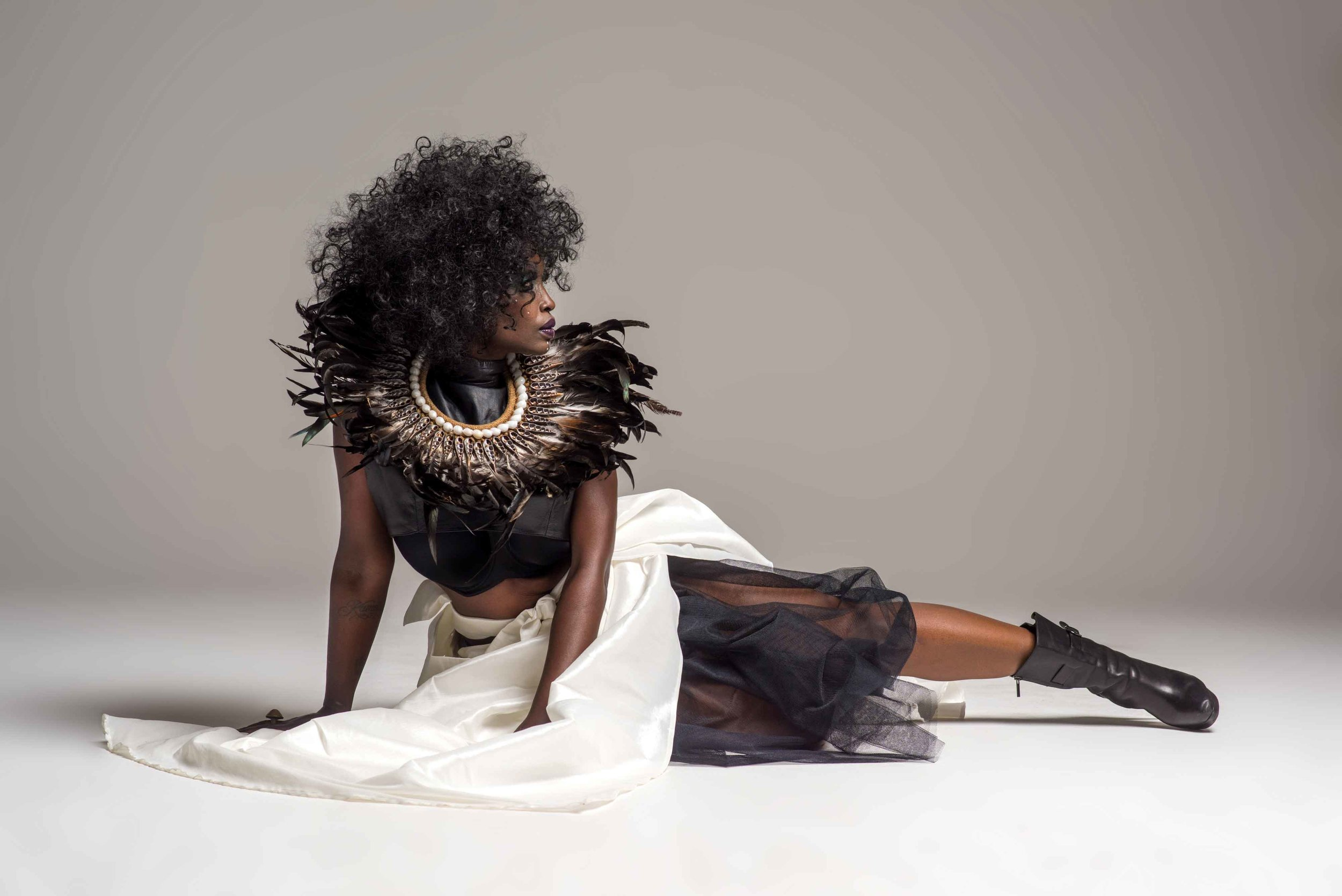 Photography: Art Thomas MUA: Lisa Rathglen Stylist: Claude Monthe