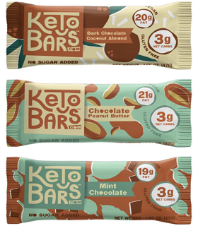 The best tasting and most keto friendly protein bar substitute I've found.