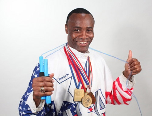 Buddy Lee developed a worldwide reputation with his incredible jump rope skills, having presented for presidents and world leaders. He was a 1992 Olympian in Greco Roman wrestling, and a 20 times National Champion in 3 different styles of wrestling.