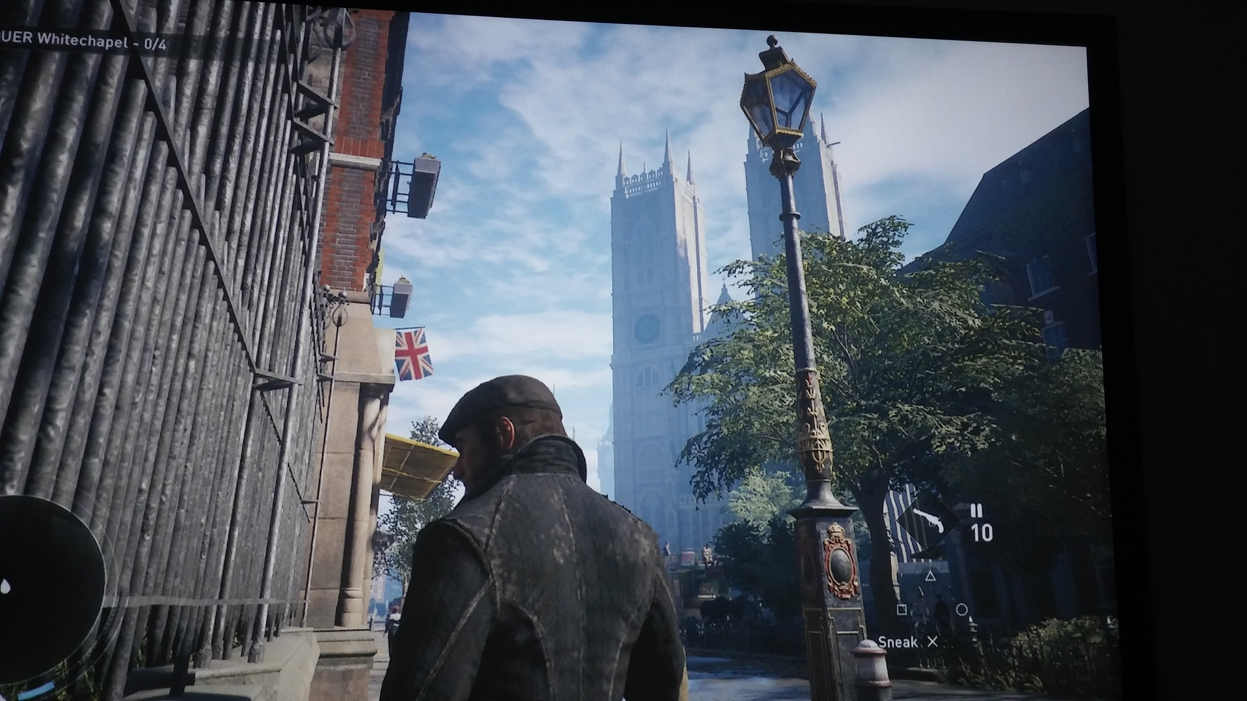 Ten feet of Assassin's Creed Syndicate.
