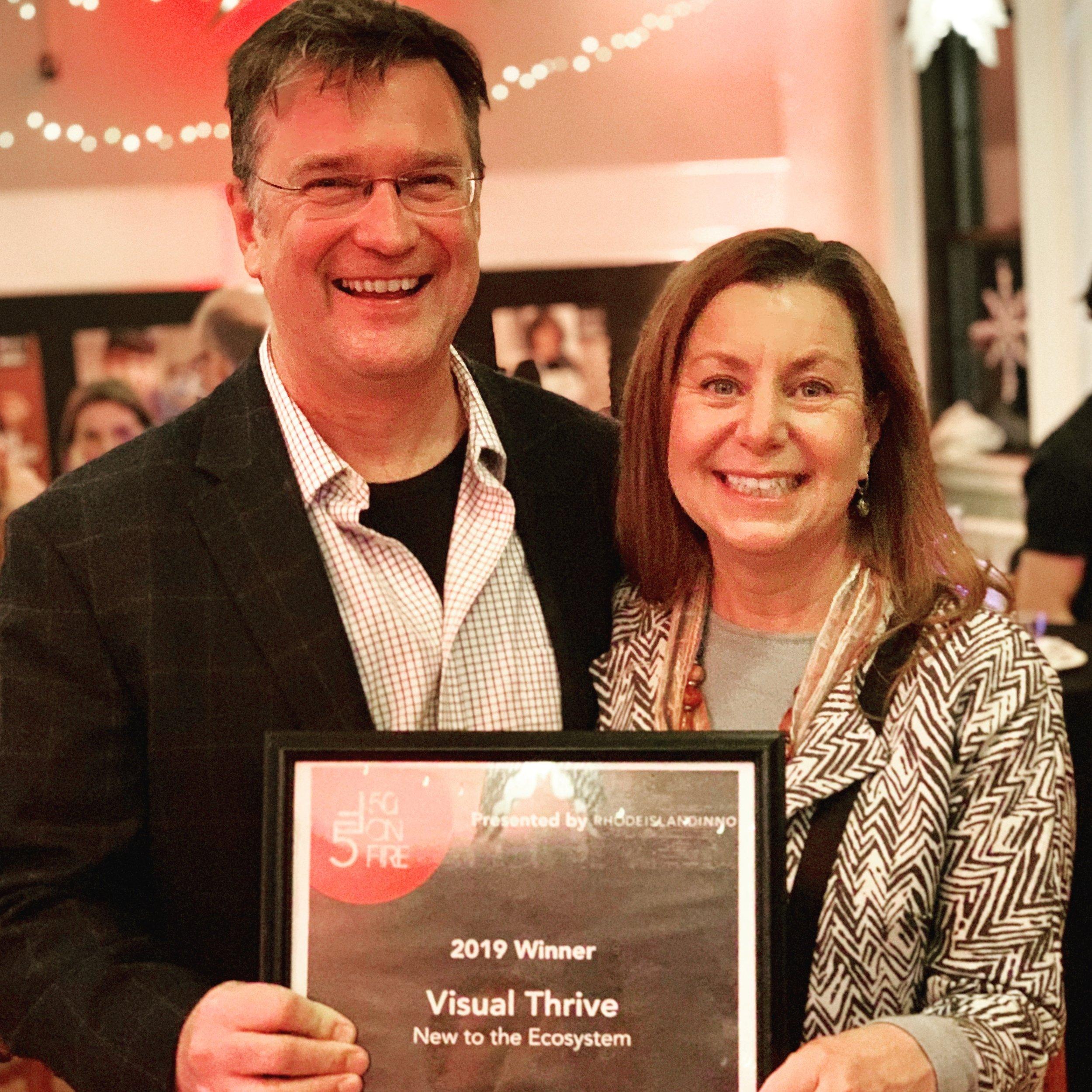Visual Thrive award winning social media agency