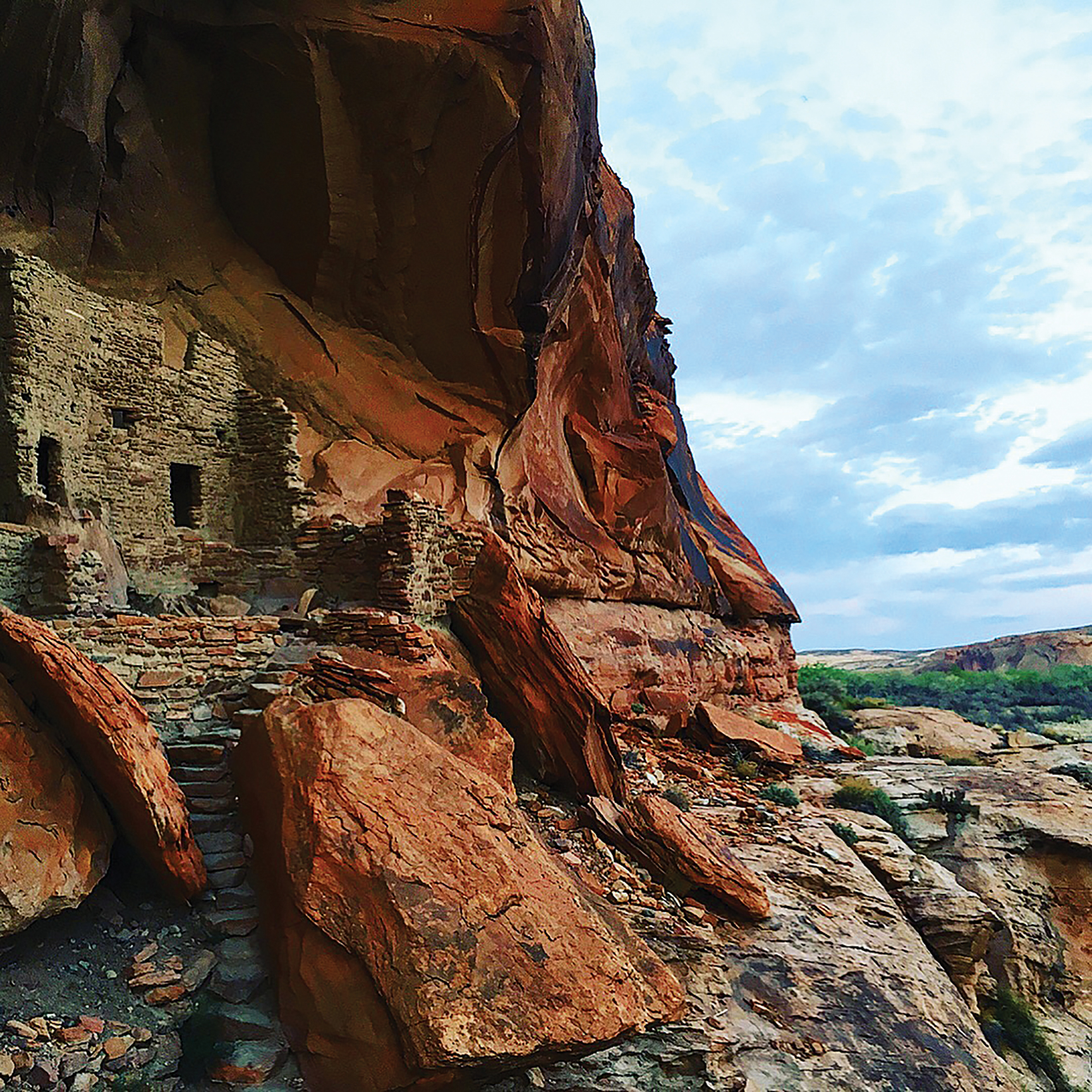 Ruins along the San Juan River. Photo by Ashley Carruth
