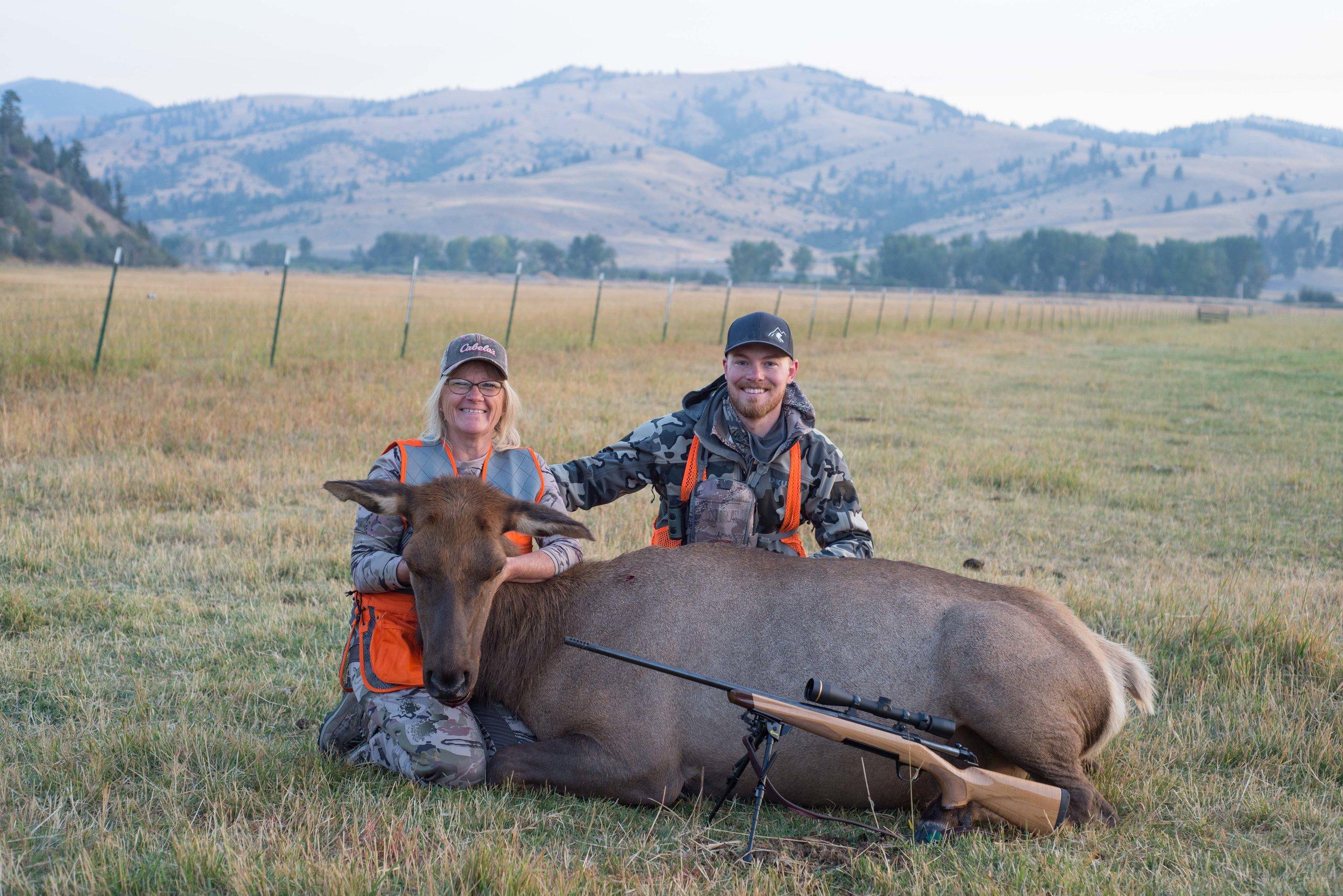 Montana Cow Elk Hunts