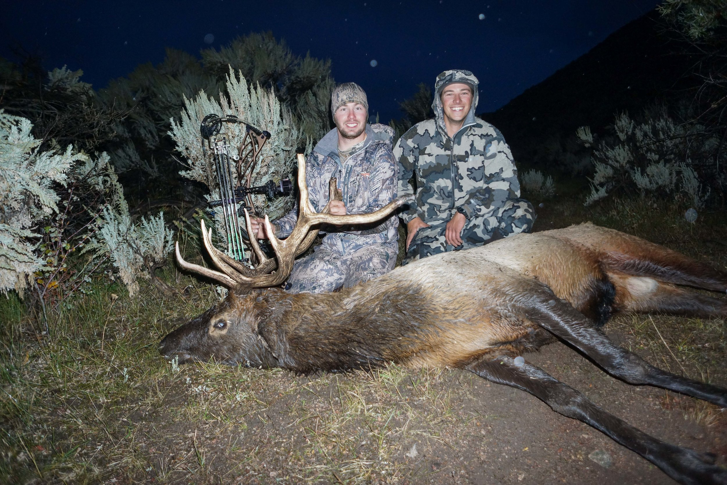 Hunting Elk with a bow in Montana
