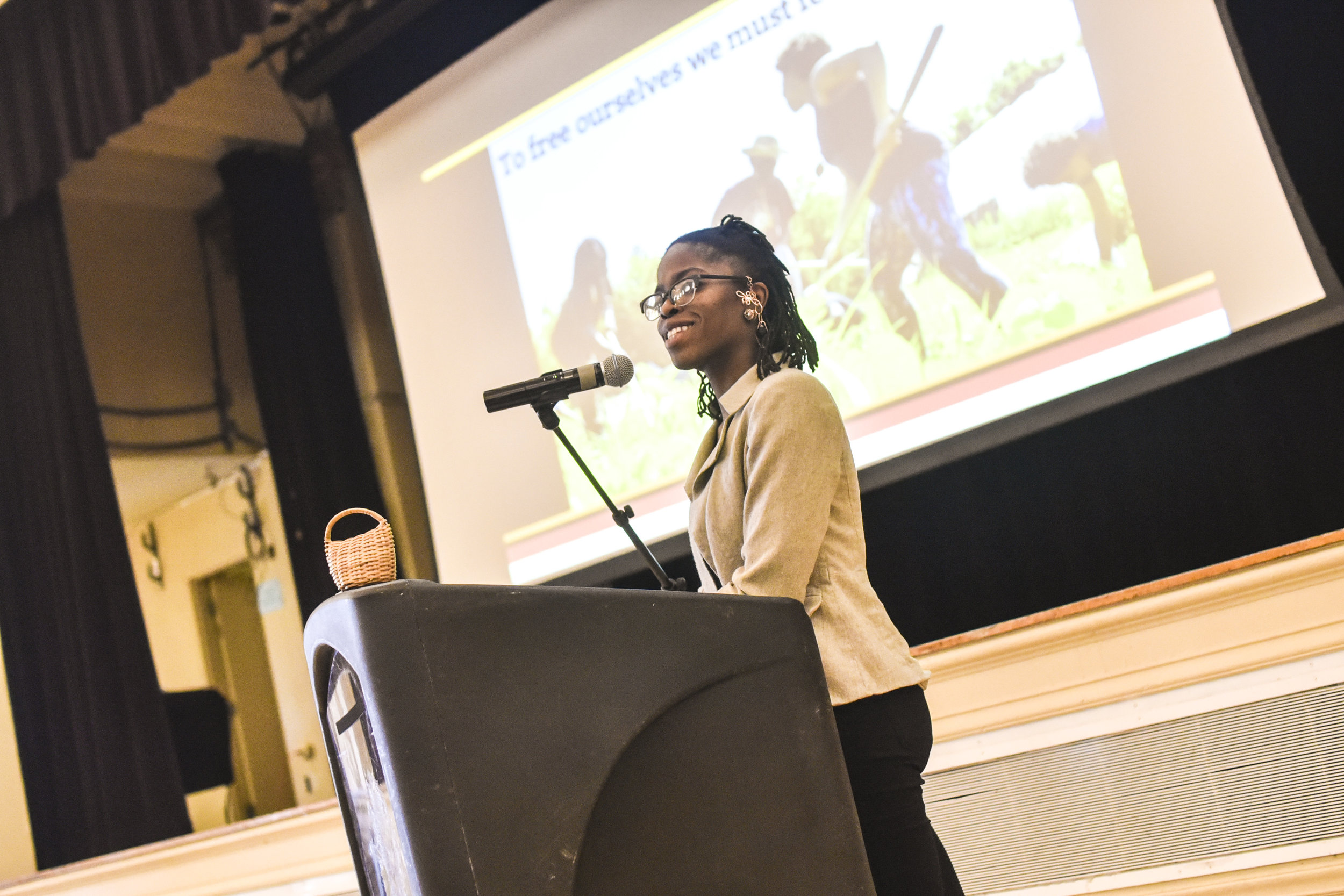 Amani Olugbala of Soul Fire Farm, Keynote Speaker at the 13th Annual Chicago Food Policy Summit