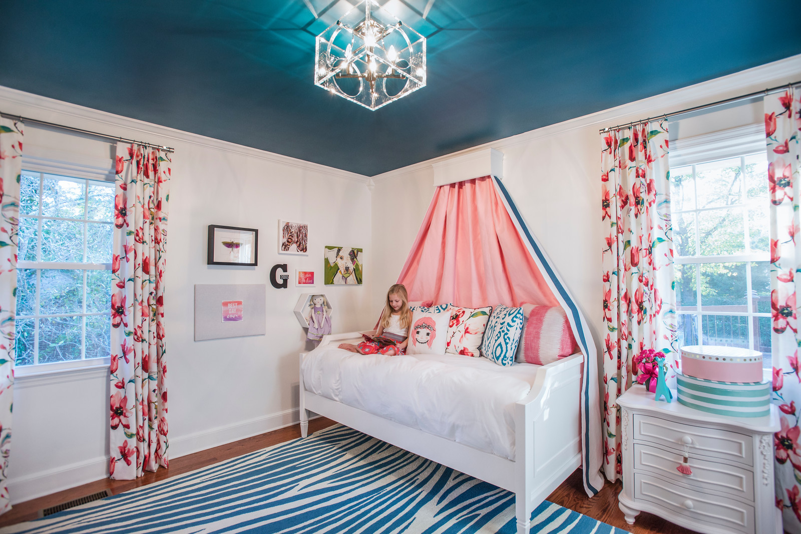 Fall '17: My middle daughter Genevieve's bedroom