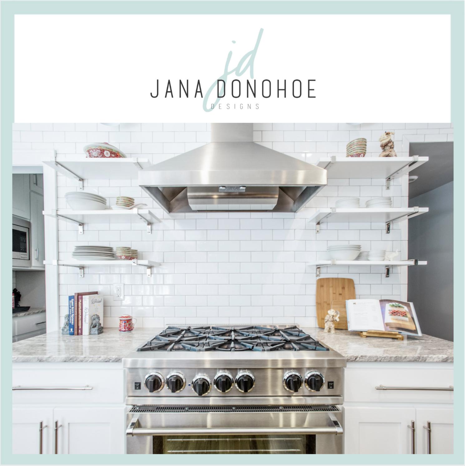 Open Shelving Kitchens: Organizing Top Tips! — Jana Donohoe ...
