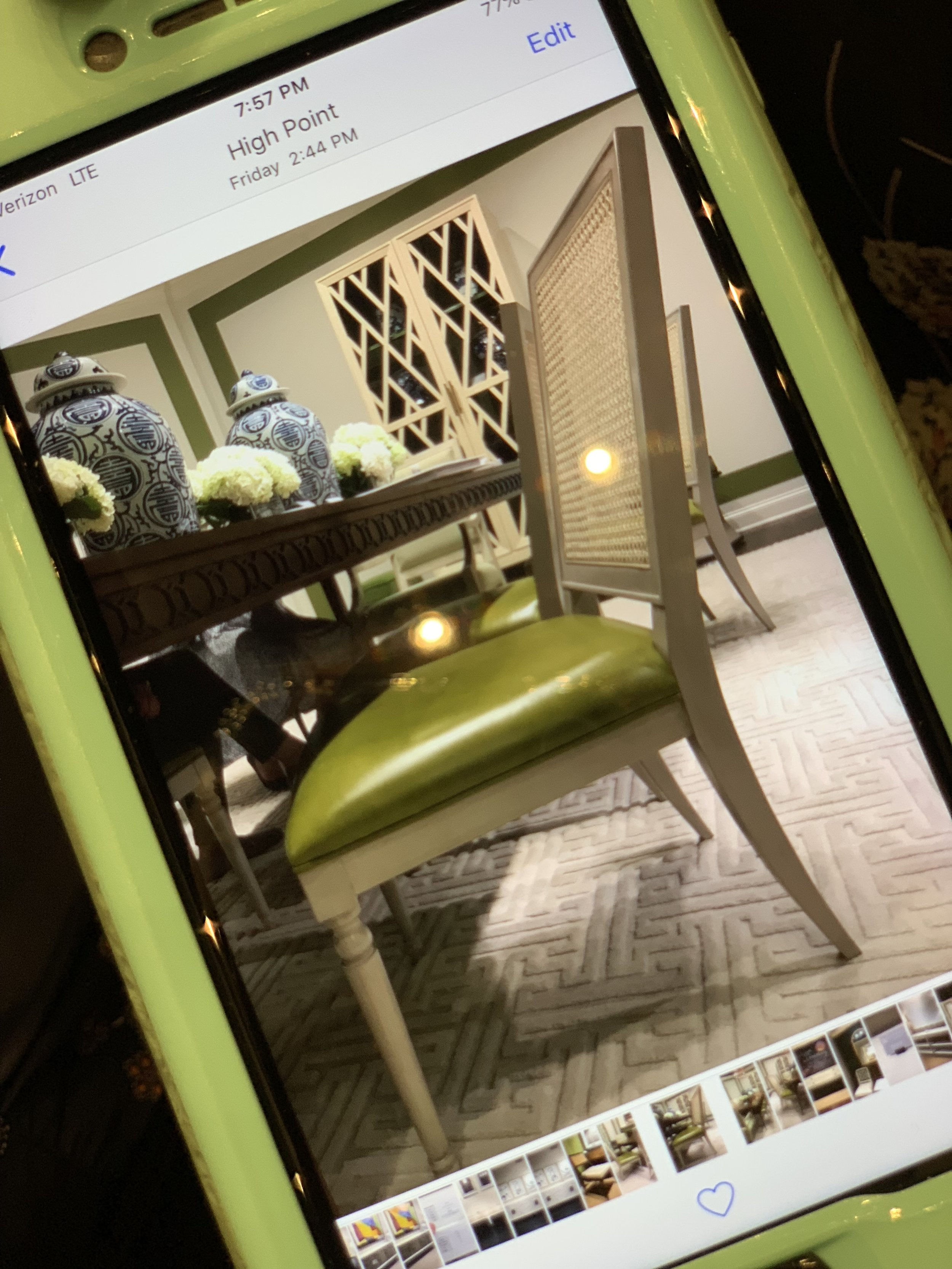 Dining Room Chair For Jana Donohoe Designs in Fayeteville, North Carolina .jpg
