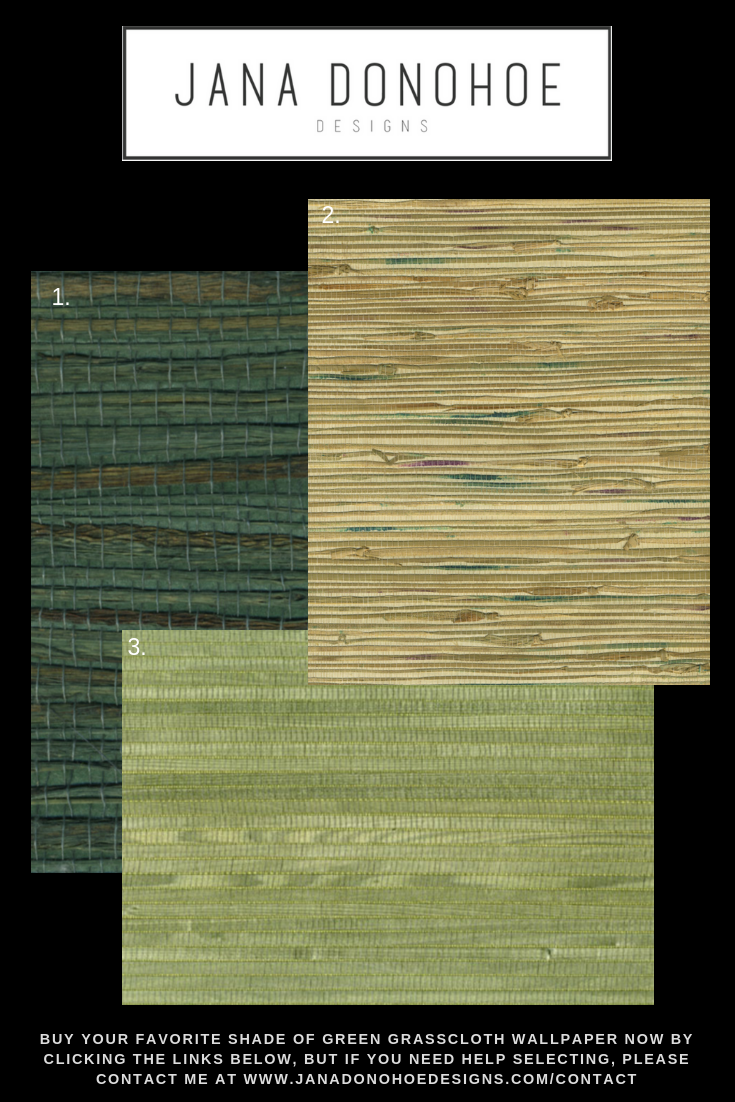 Best Green Glasscloth Wallpapers As Selected By Jana Donohoe Designs in Fayetteville, NC (1).png