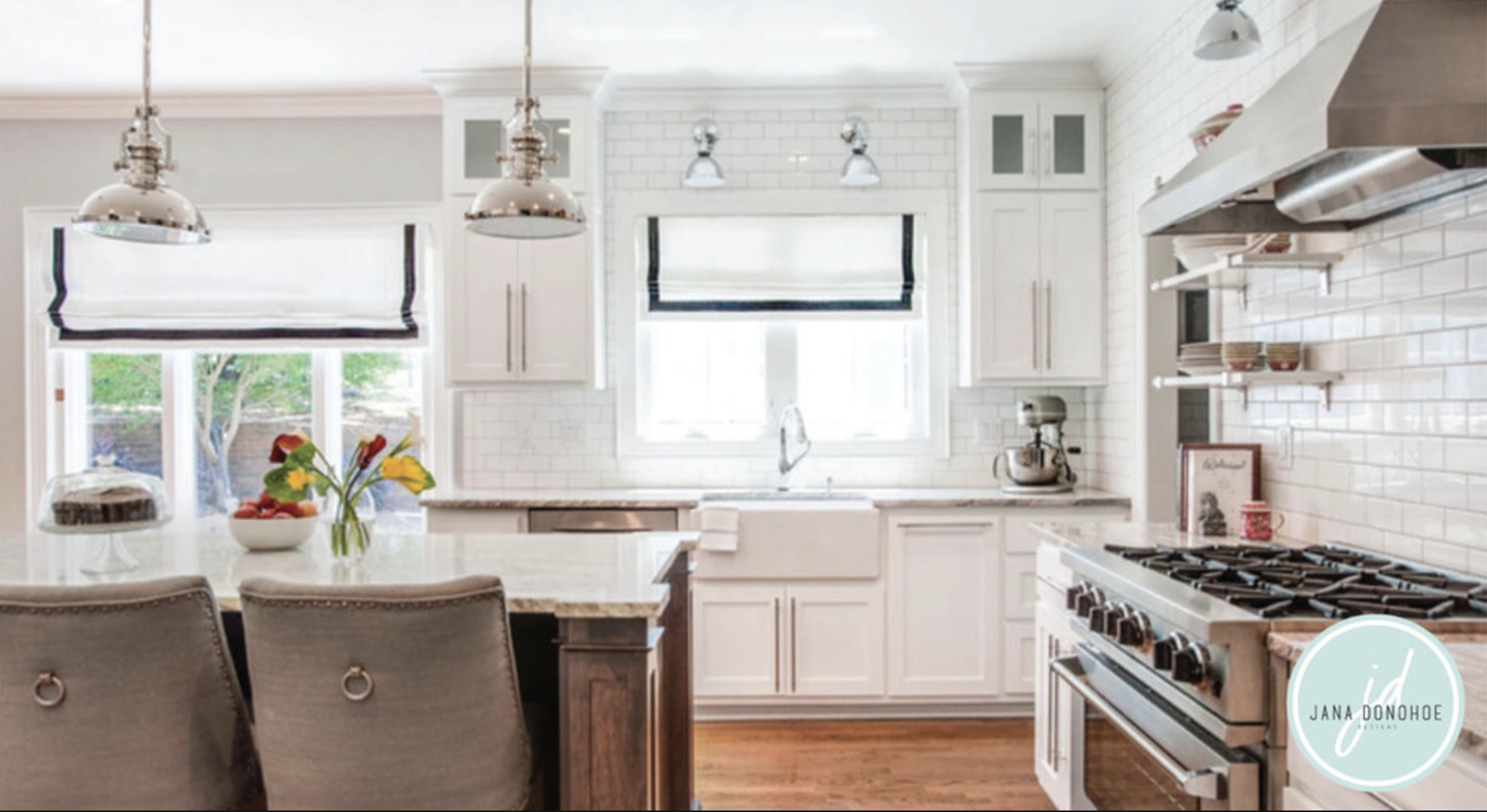 I love that my clients are enjoying their new kitchen so much. That means everything to me!
