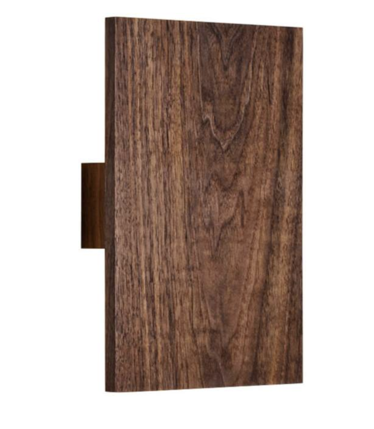 Cerno Walnut Sconce