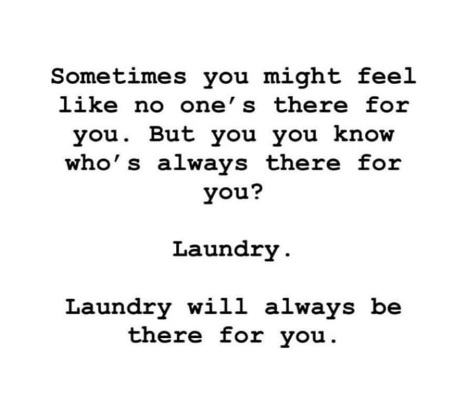 Funny quotes about laundry