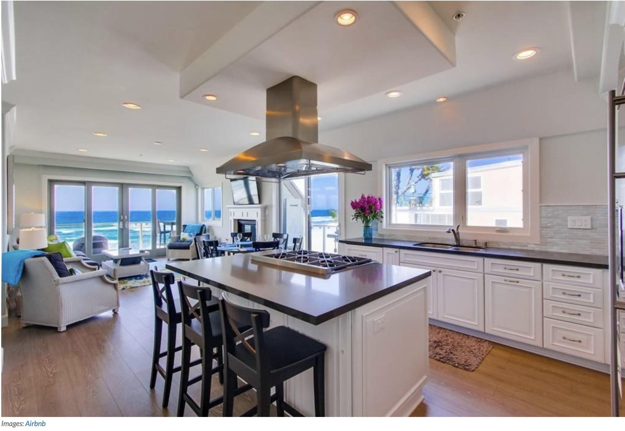 Best luxury airbnb kitchen in San Diego