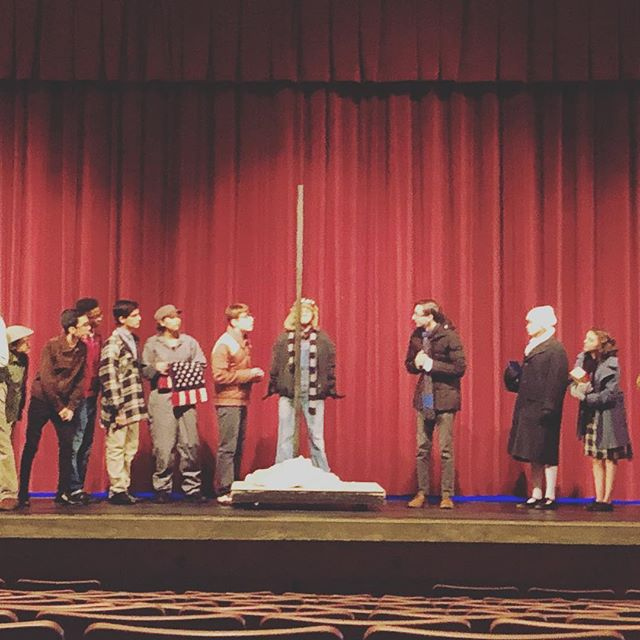 Name the scene and quote! #chschristmas #centralchristmas @centraltheatre_ @centralusd