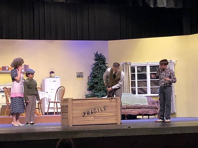 Wonder what the major award is. 'A Christmas Story' opens tomorrow. Come join us!