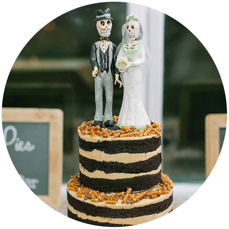 wedding cakes - View menu →