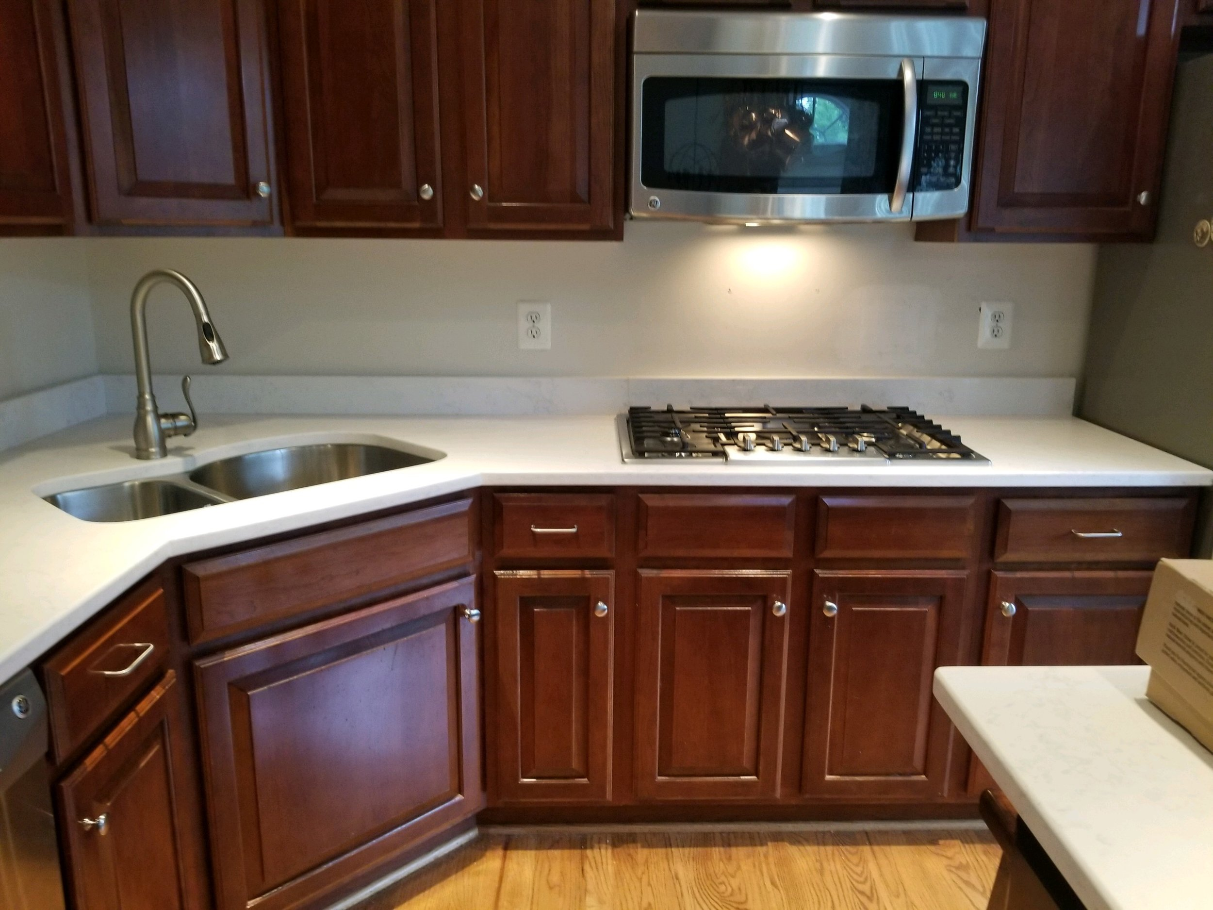 Gallery - Kitchen Backsplash — Looney\'s Tile and Grout ...