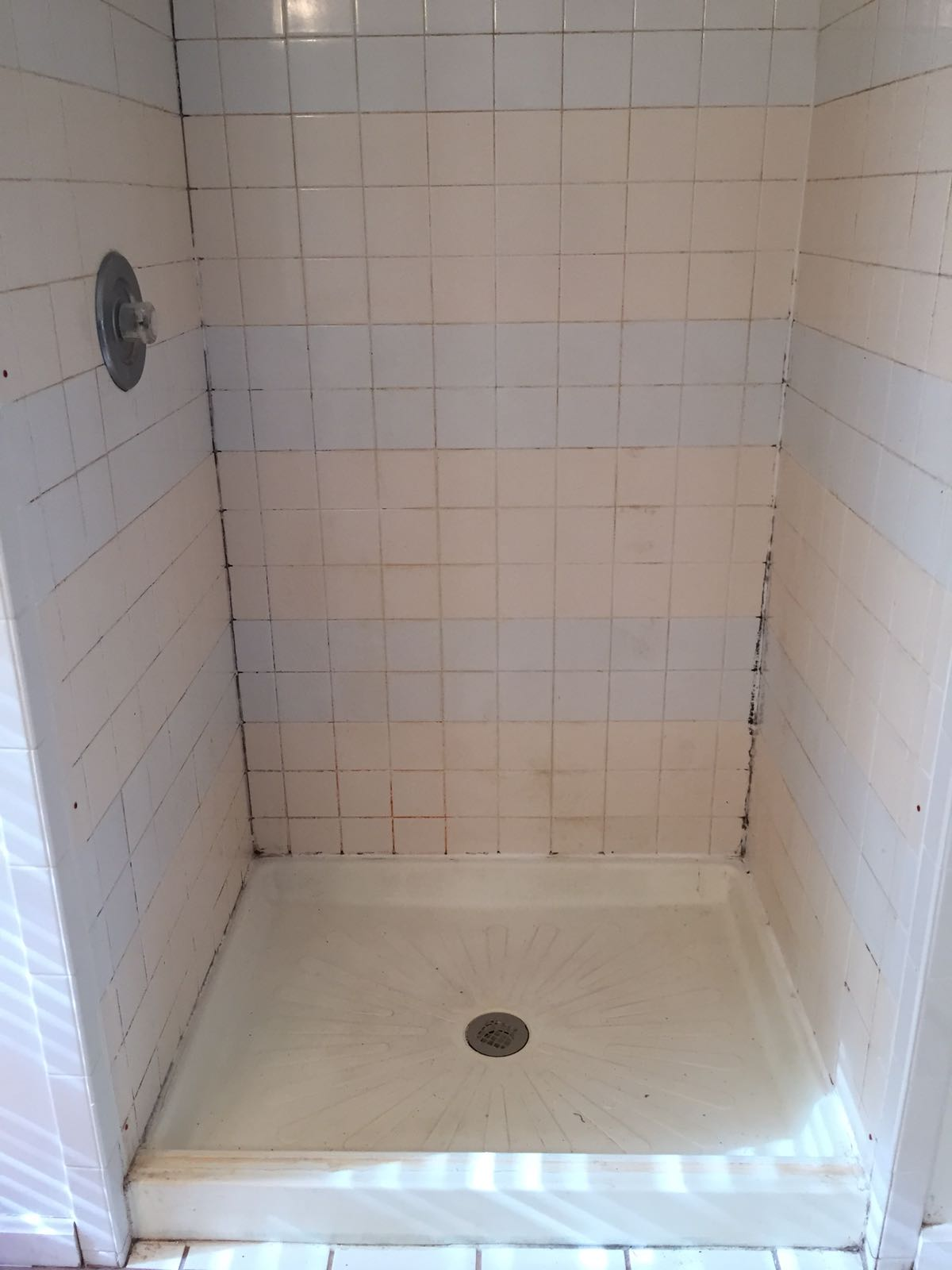 Before - Tile and Grout Cleaning