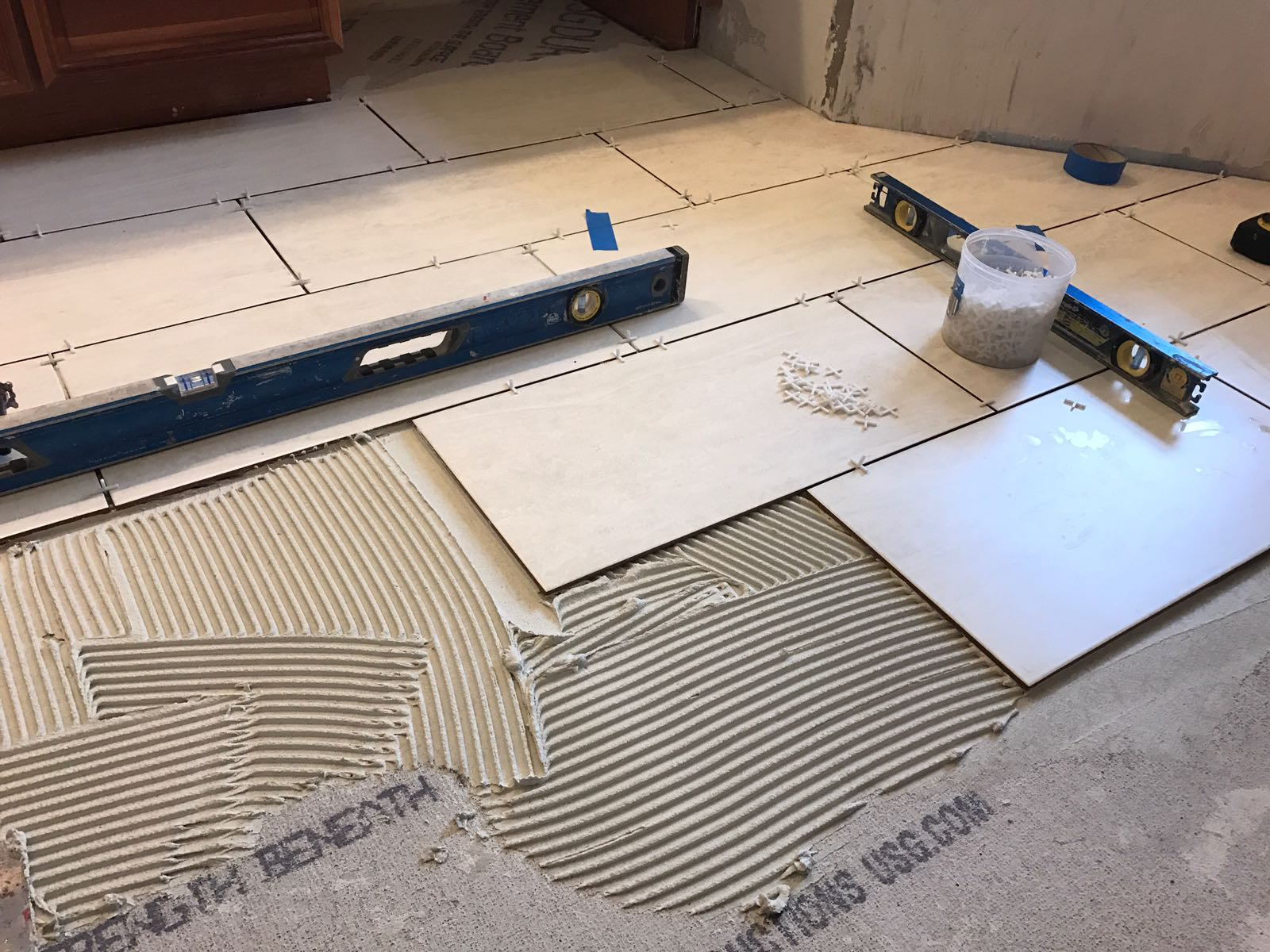 Tile Installation -