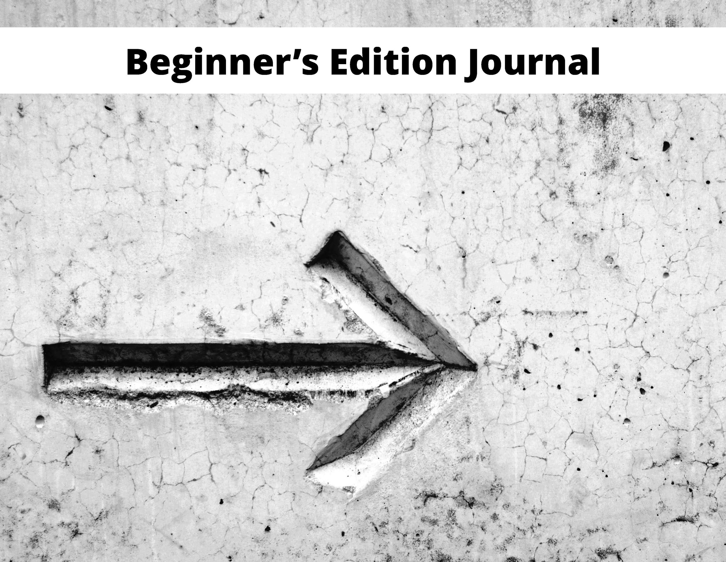 Beginner's Edition Journal