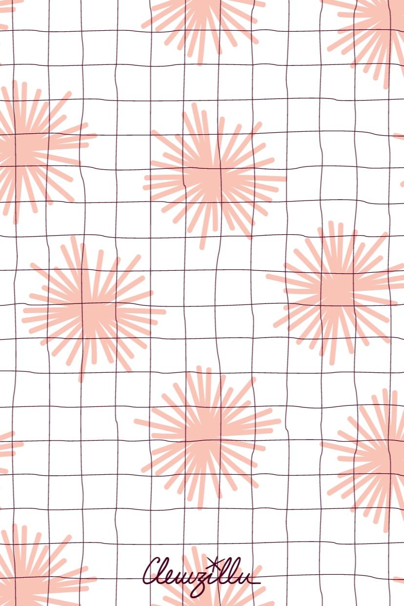 pattern-design pompons