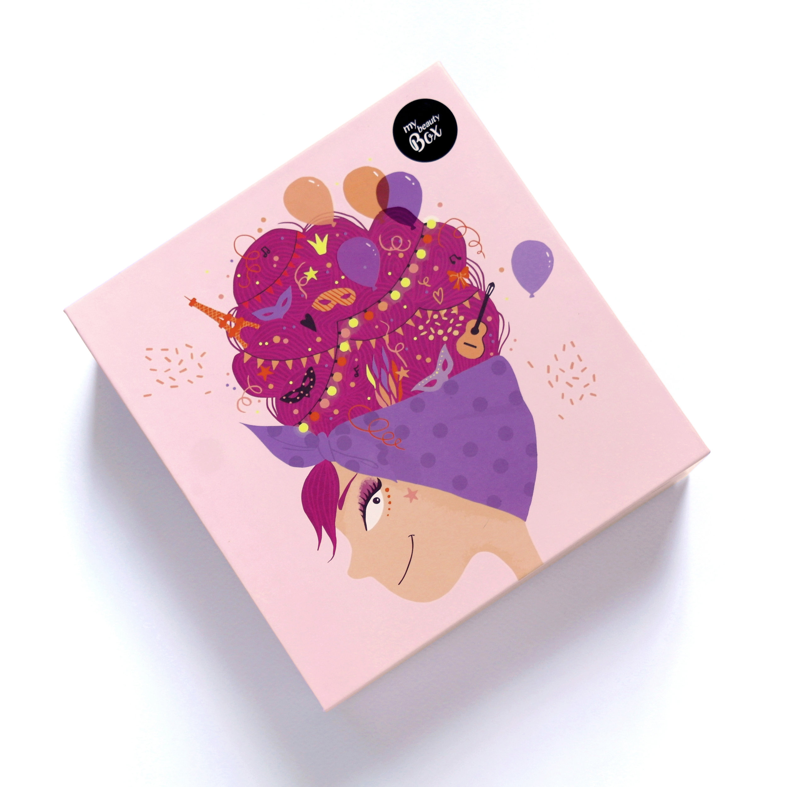 illustration box beauté