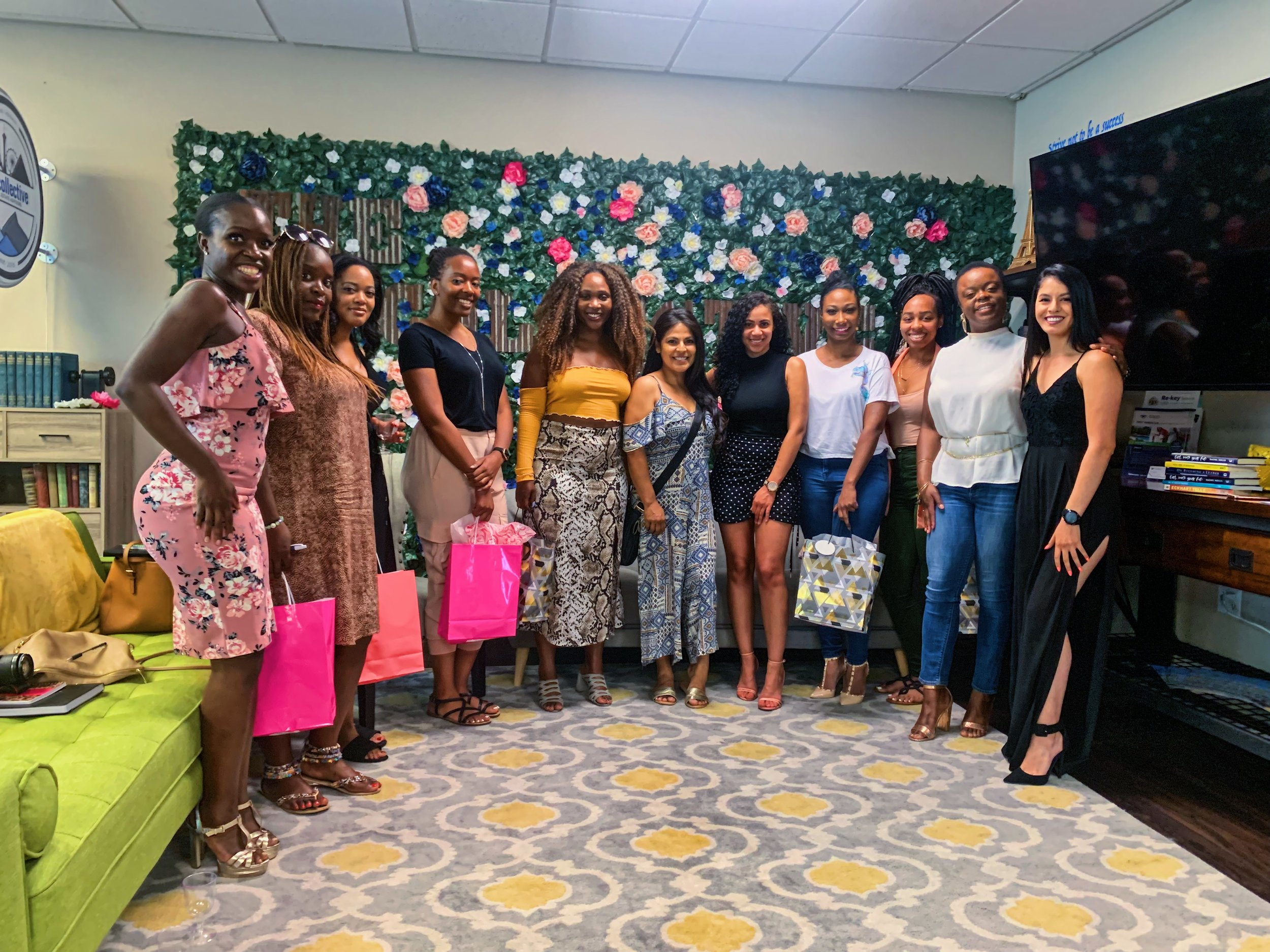 Thank you to all the lovely ladies in attendance :)