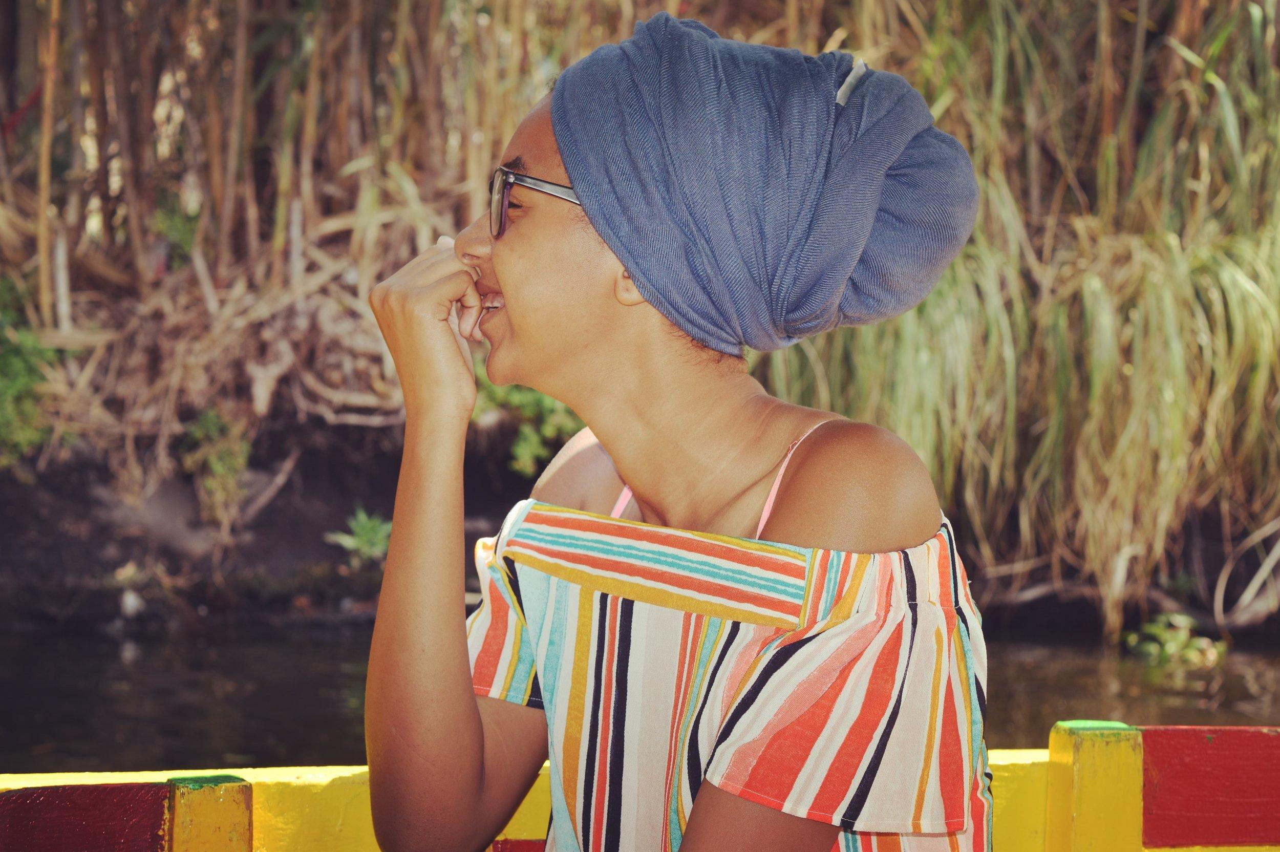 Black female psychologist