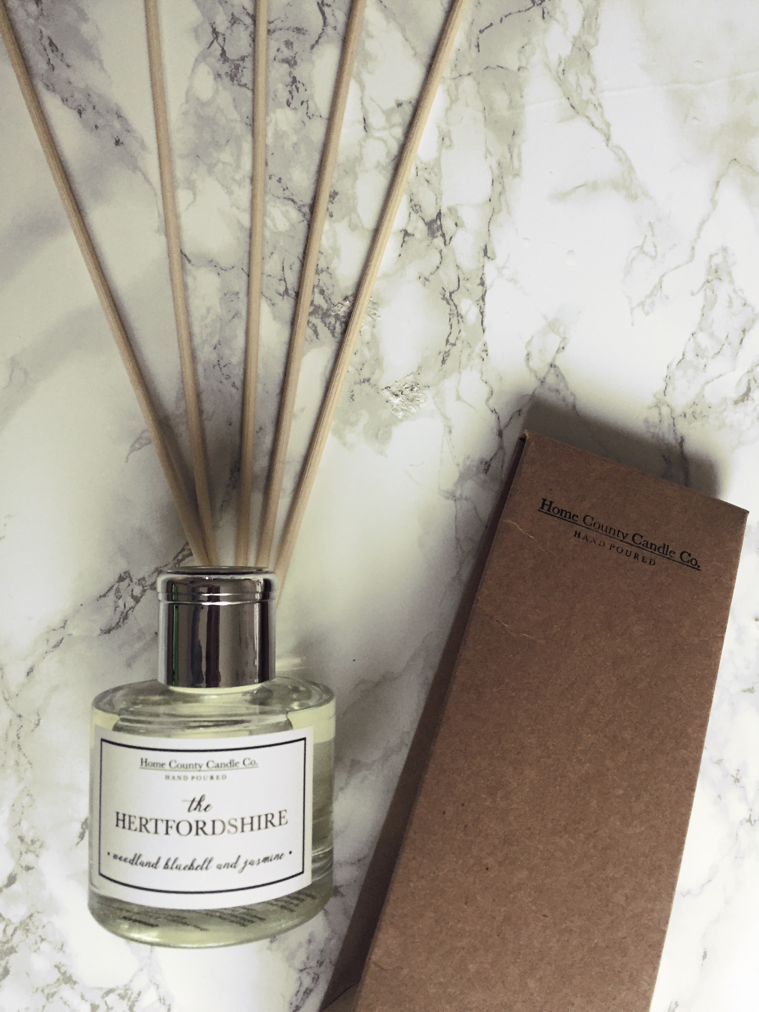 The Hertfordshire 100ml Reed Diffuser