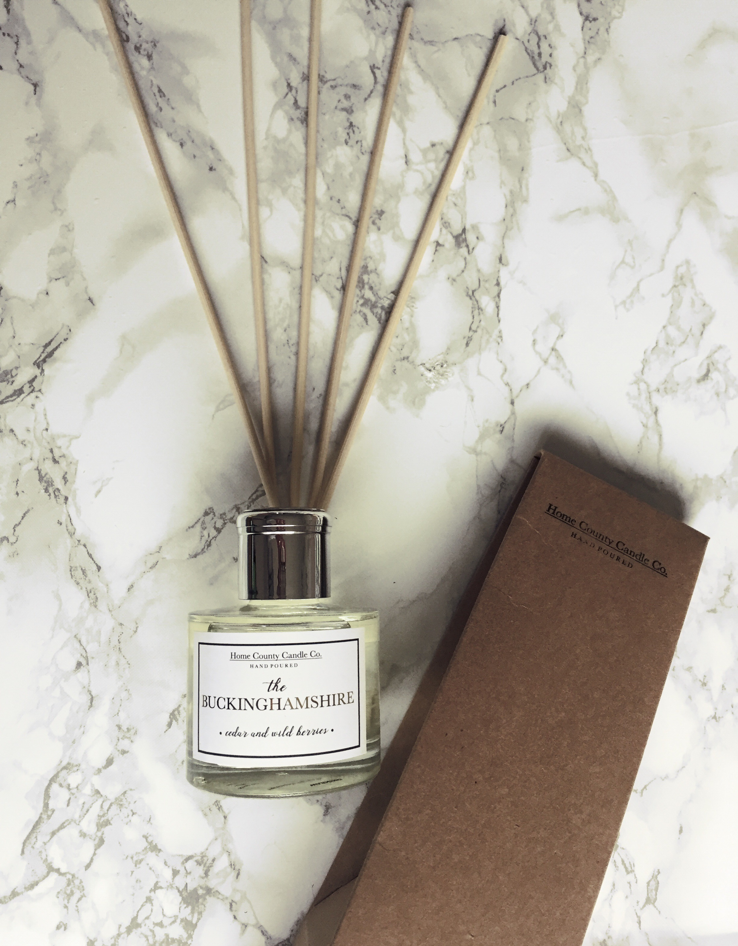 The Buckinghamshire 100ml Reed Diffuser