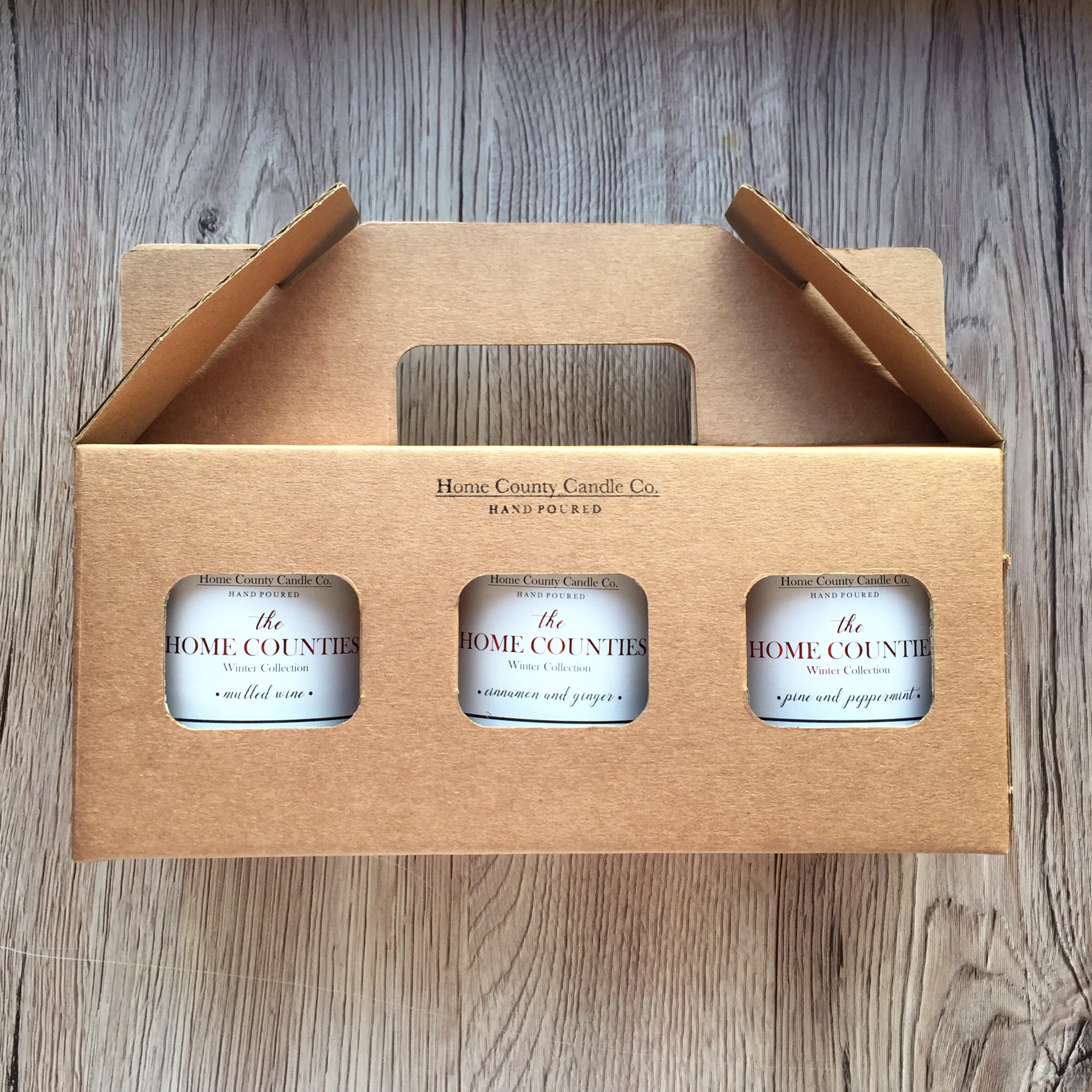 "our 3 top picks this december - 1. Candle Trio Gift Sets - According to 'The Gift Box' ""if you're unsure which fragranced candle is best to give, why not choose a gift set with various scents included? This takes away all the worry of not selecting someone's favourite fragrance."" Not only that, our Candle Trio Gift sets are also a great way of taking your recipient down memory lane (""remember when you grew up in Bucks, moved to Herts and holidayed in Yorkshire""). It also helps that they come beautifully packaged in a lovely little hand-stamped gift box - so hardly any wrapping required!2. Candle & Diffuser Gift Sets - If you really want your gift to last, the addition of one of our reed diffusers is perfect! With our candle and diffuser gift sets you can once again mix and match your scents, and the diffuser will last around 4-5 months!3. 3 Wick Candles - We all have that one candle-mad friend who goes through candles like hotcakes (guilty!). Our 3-wick candles, with a burn time of around 80-85 hours are the perfect gift for the candle lover in your life this Christmas (and will also make fantastic Christmas table centerpieces)!"
