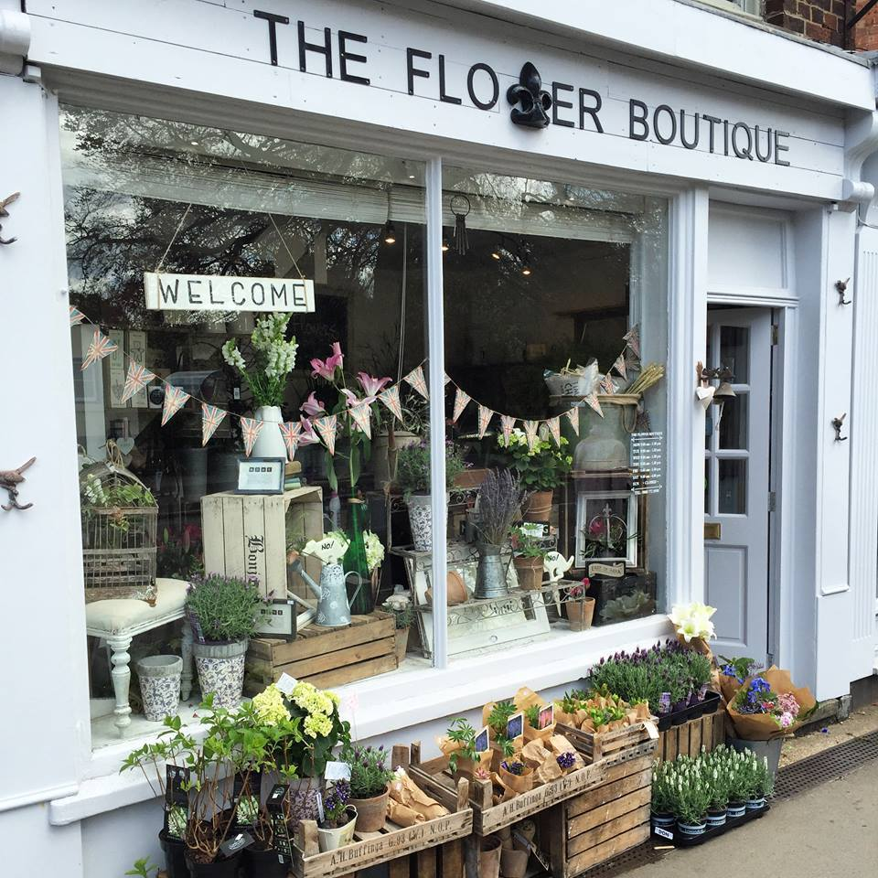 "the flower boutique - bedfordshire/buckinghamshire - 1a High Street,Woburn Sands,Milton Keynes,MK17 8RQhttps://www.theflowerboutiquemk.co.uk/""With this beautiful artisan flower boutique perfectly situated exactly halfway on the border between Bedfordshire and Buckinghamshire, we couldn't think of a more perfect place to stock our candles and diffusers!"""