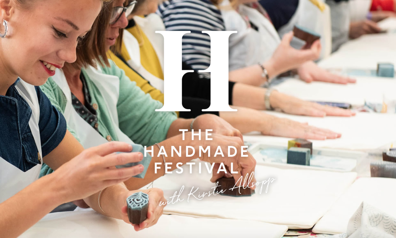 "the handmade festival - hampton court, surrey - Friday 13th - Sunday 15th September 2019Another first for us this year, we can't wait to join hosts Kirsty Alsopp and Liz Earle (my FAVE skincare brand) for the 2019 Handmade Festival!""For 2019 we are re-launching as the Handmade Festival and bringing you an inspiring collection of creative people, skilled makers and a vast array of what is celebrated as handmade. Whether you wish to learn a new skill in one of our workshops or have a great day out shopping from over 200 designer makers the Festival is a fantastic day out for all. We champion handmade and hand-pick the individuals who come to showcase their incredible products.""Join us there - grab your tickets here."
