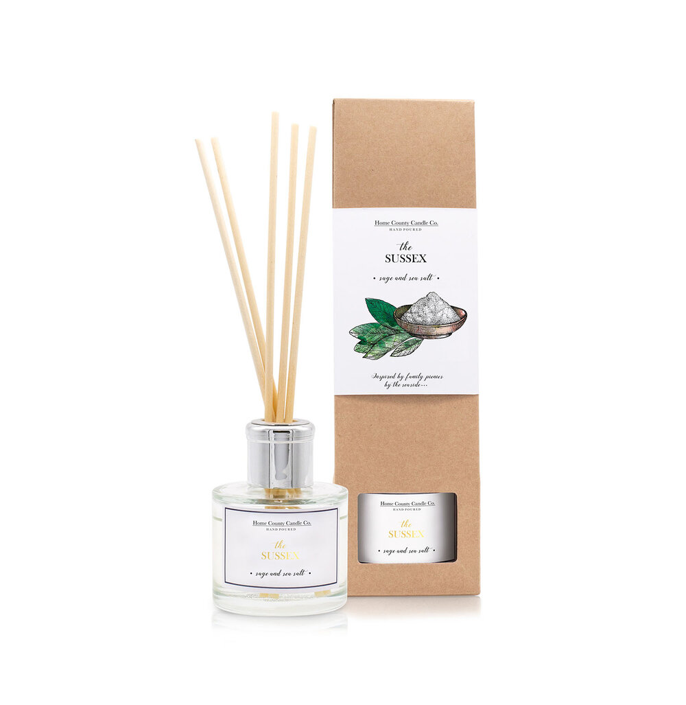 The Sussex - Sage and Sea Salt Reed Diffuser