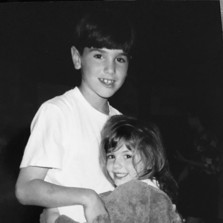 Jack and sister-black and white.jpg