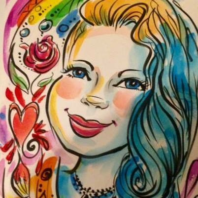 Beautiful caricature for kids parties nyc.  Schedule an amazing artist today to make your event special!