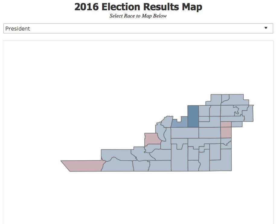 2018 AZ Legislative Race Tracker Interactive Mapping