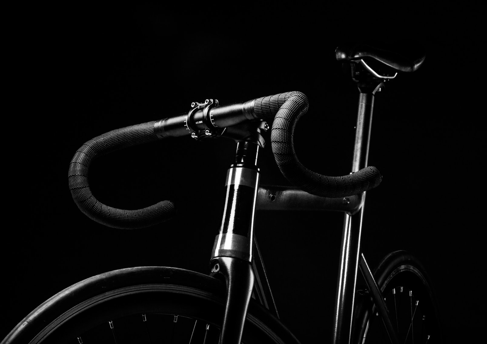 Same black bike, much different impressions.