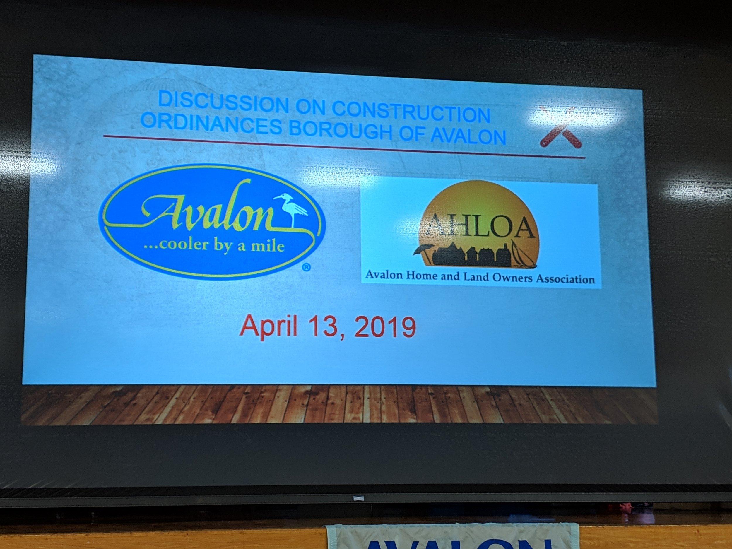 New Borough Construction Ordinances