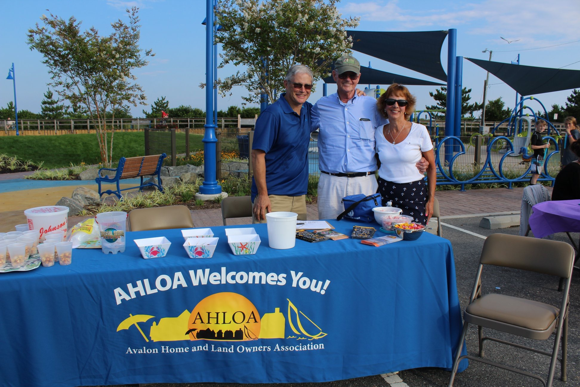 Left to right: Chuck O'Hara, Jack Keenan and Lynn Cruser