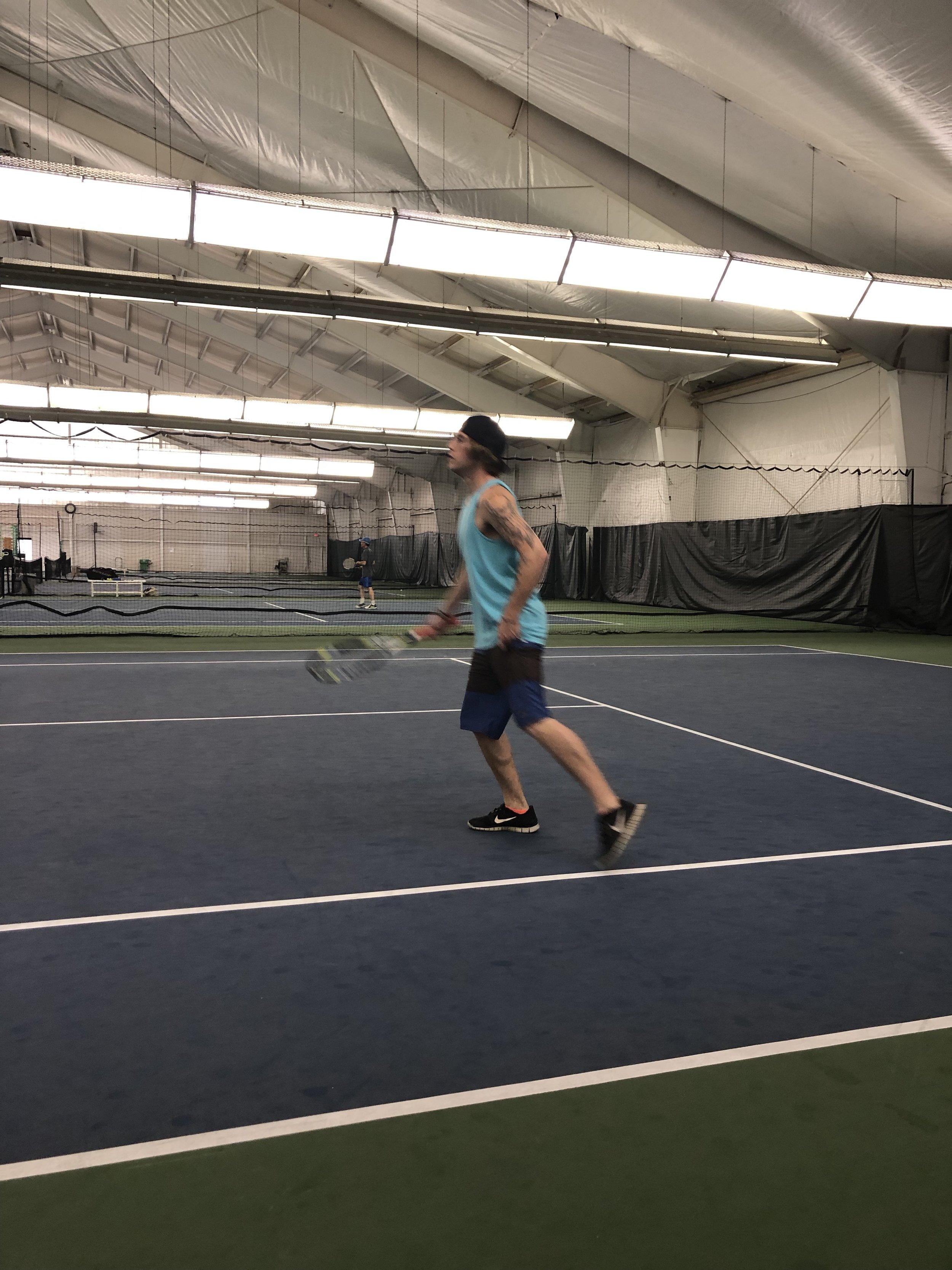Our Tri-Tennis team played hard!