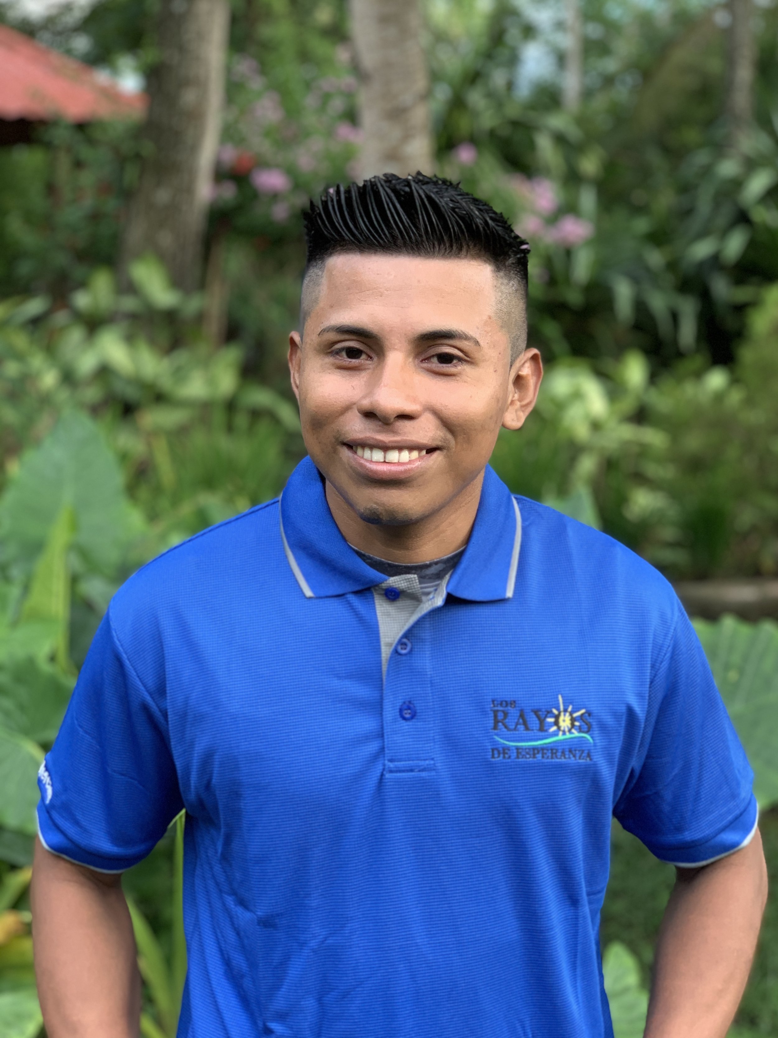 Evelio MercadoNight Security Guard - Evelio is our nighttime security guard. All visitors at LRdE volunteers can sleep peacefully because of the work of this humble man.Evelio is a hard-working, responsible man and is very loyal. He is a pleasure to be around and is always smiling.