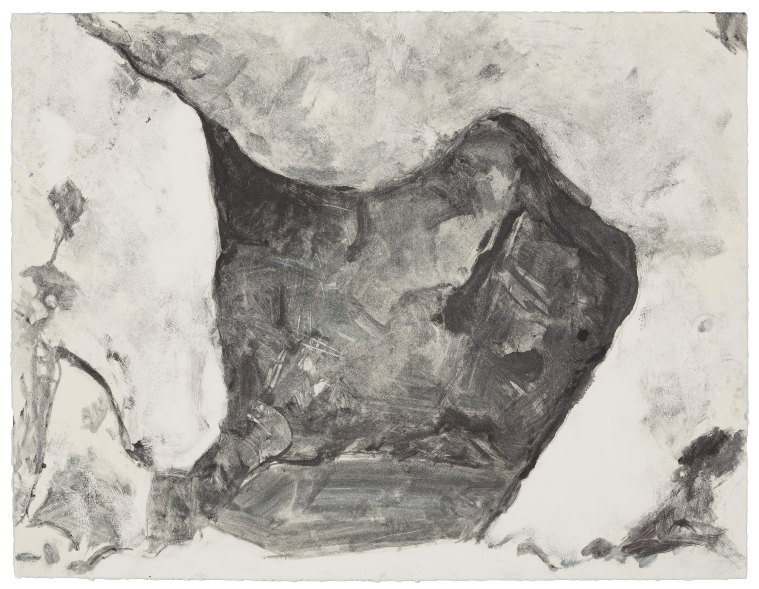 Cave at Pismo (HH) , 2007 Monotype Image and paper size: 14.75 x 11.25 inches Published by BCA