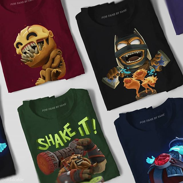 """New #dota2 merch now up at the valve store! Just type in """"ced"""" on the search box to find all my entries this year 🙌 #ti9"""