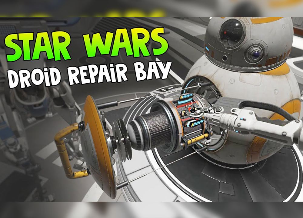 Copy of Copy of Star Wars Droid Repair Bay
