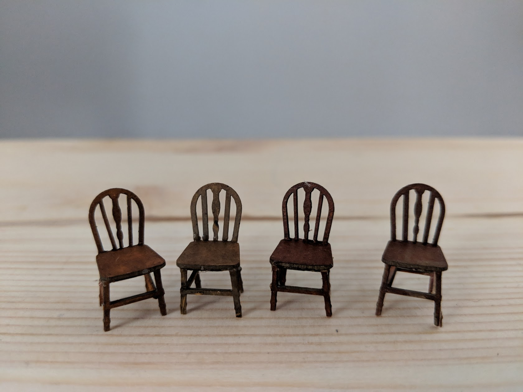 Laser-cut chairs