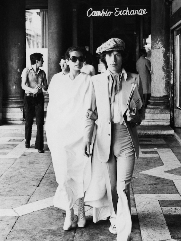 Mick and Bianca Honeymoon 1971 Getty Images
